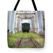 Abandoned Industrial Dock Tote Bag