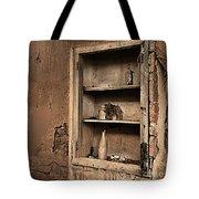 Abandoned Kitchen Cabinet B Tote Bag