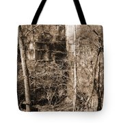 Abandoned Marble Quarry Tote Bag
