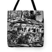 Abandoned Mono Tote Bag
