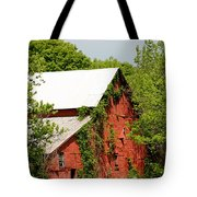 Abandoned Old Barn Tote Bag