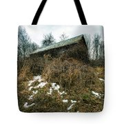 Abandoned Places - Old House - House On The Hill Tote Bag