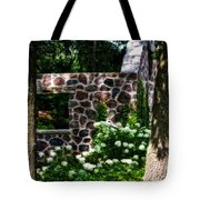 Abandoned Spring House Tote Bag