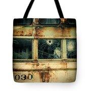 Abandoned Train Car Tote Bag
