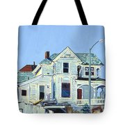 Abandoned Victorian In Oakland  Tote Bag