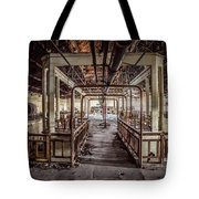 Abandoned Winery In The South Of France Tote Bag