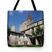 Abbey Church St. Philibert - Tournus Tote Bag