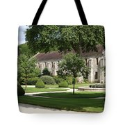 Abbey Fontenay Burgundy Tote Bag