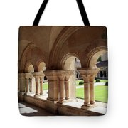 Abbey Fontenay - Cloister Vault  Tote Bag