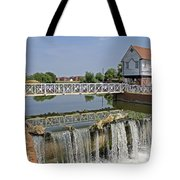 Abbey Mill And Weir Tote Bag
