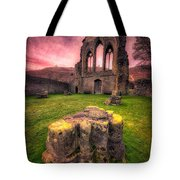 Abbey Ruin Tote Bag