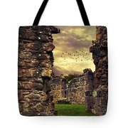 Abbey Ruins Tote Bag