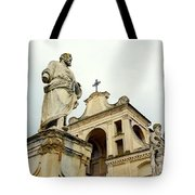 Abbey Statues Tote Bag