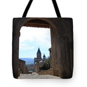 Abbey Through Doorway - Cluny Tote Bag