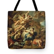 Abduction Of Orithyia Tote Bag