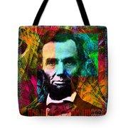 Abe The Broham Lincoln 20140217 Tote Bag
