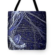 Aberration Of Jelly Fish In Rhapsody Series 3 Tote Bag