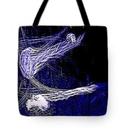 Aberration Of Jelly Fish In Rhapsody Series 4 Tote Bag