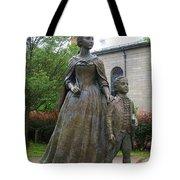 Abigail Adams Statue Tote Bag