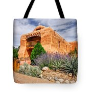 Abiquiu Mission Church Tote Bag