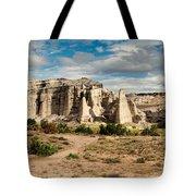 Abiquiu New Mexico Plaza Blanca In Technicolor Tote Bag