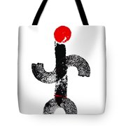 Aboriginal Figure Tote Bag
