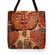 Aborigine Carved Figure Tote Bag