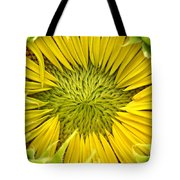 About To Be A Sunflower Tote Bag