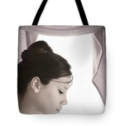 About To Go On Stage Tote Bag