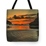 About To Go Out Tote Bag