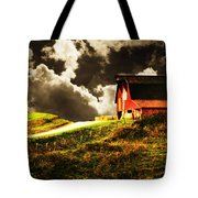 About To Storm Tote Bag