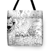 About Wolves And Sheep Tote Bag