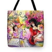 About Women And Girls 16 Tote Bag