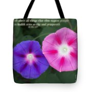 Above All Things Tote Bag