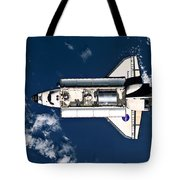 Above Earth Tote Bag
