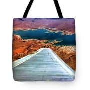 Above Lake Mead By Diana Sainz Tote Bag
