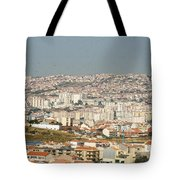 Above Lisbon Portugal Tote Bag