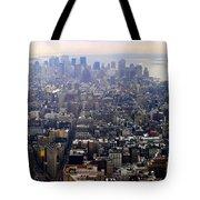 Above New York Tote Bag