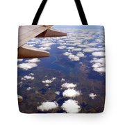 Above The Clouds IIi Tote Bag