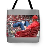 Above The Crowd Tote Bag