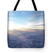 Above The Earth Tote Bag