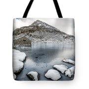 Above The Ice Tote Bag