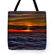 Above The Marine Layer Tote Bag