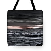 Above The Marine Layer V2 Tote Bag