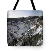 Above The Tree Line Tote Bag