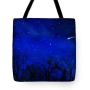 Above The Treetops Wall Mural Tote Bag