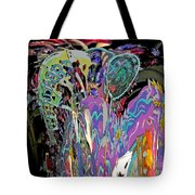 Abracadabra Abstract Tote Bag