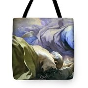 Abraham Heard The Promises Of The Lord Tote Bag
