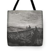 Abraham Journeying Into The Land Of Canaan Tote Bag