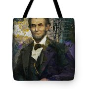 Abraham Lincoln 07 Tote Bag by Corporate Art Task Force